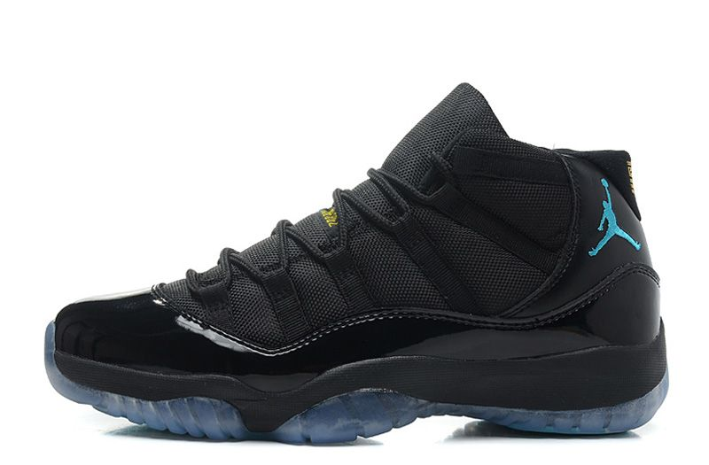 wholesale dealer e1fe9 4cf5e Air Jordan 11 (Xi) Retro Black Gamma Blue-Black-Varsity Maize Basketball  Shoes
