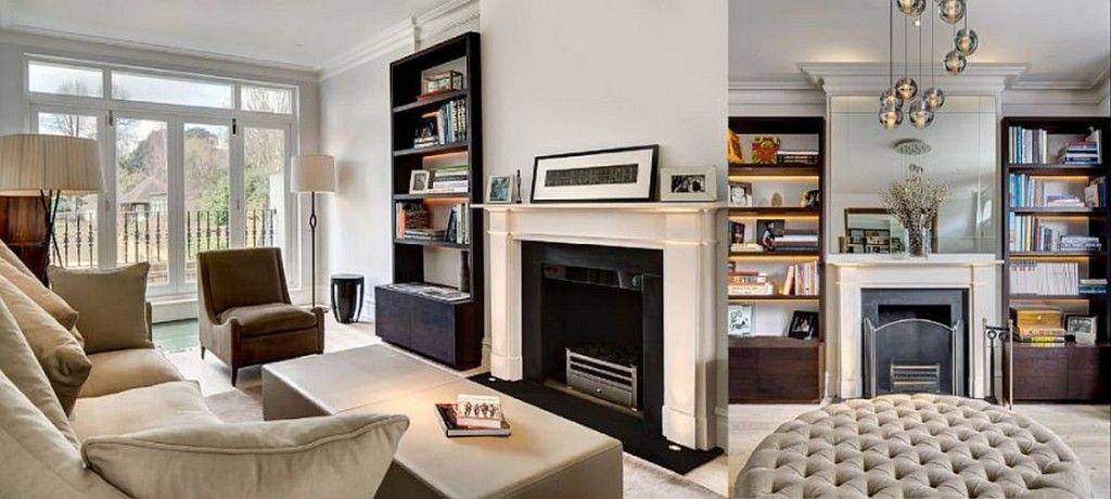 Architecture Comfort Beige Sofa In Front Of Beige Rectangular