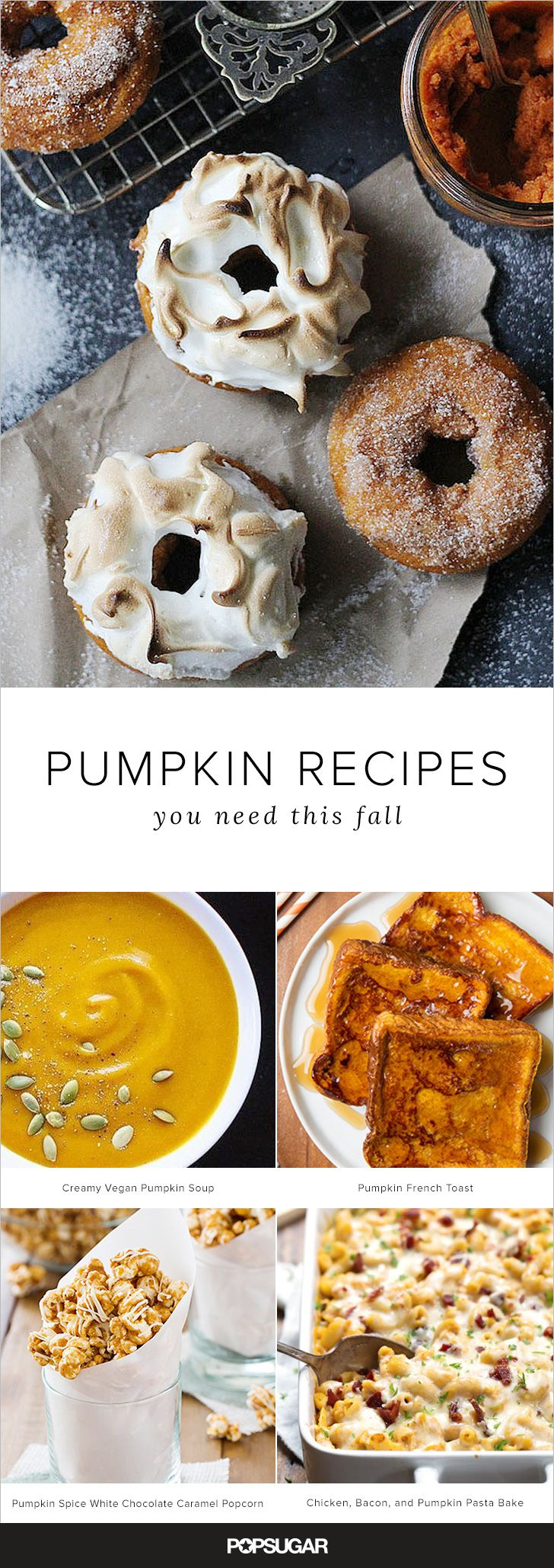 All of the pumpkin recipes 111 to be exact you need