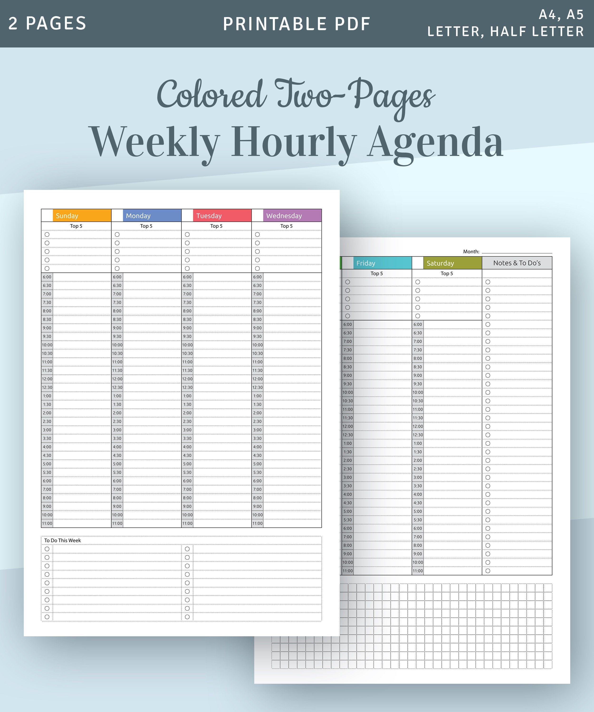 Twenty Four Seven Weekly Planner Pdf Credit Goes To Website Weekly Planner Twenty Four Seven Planner