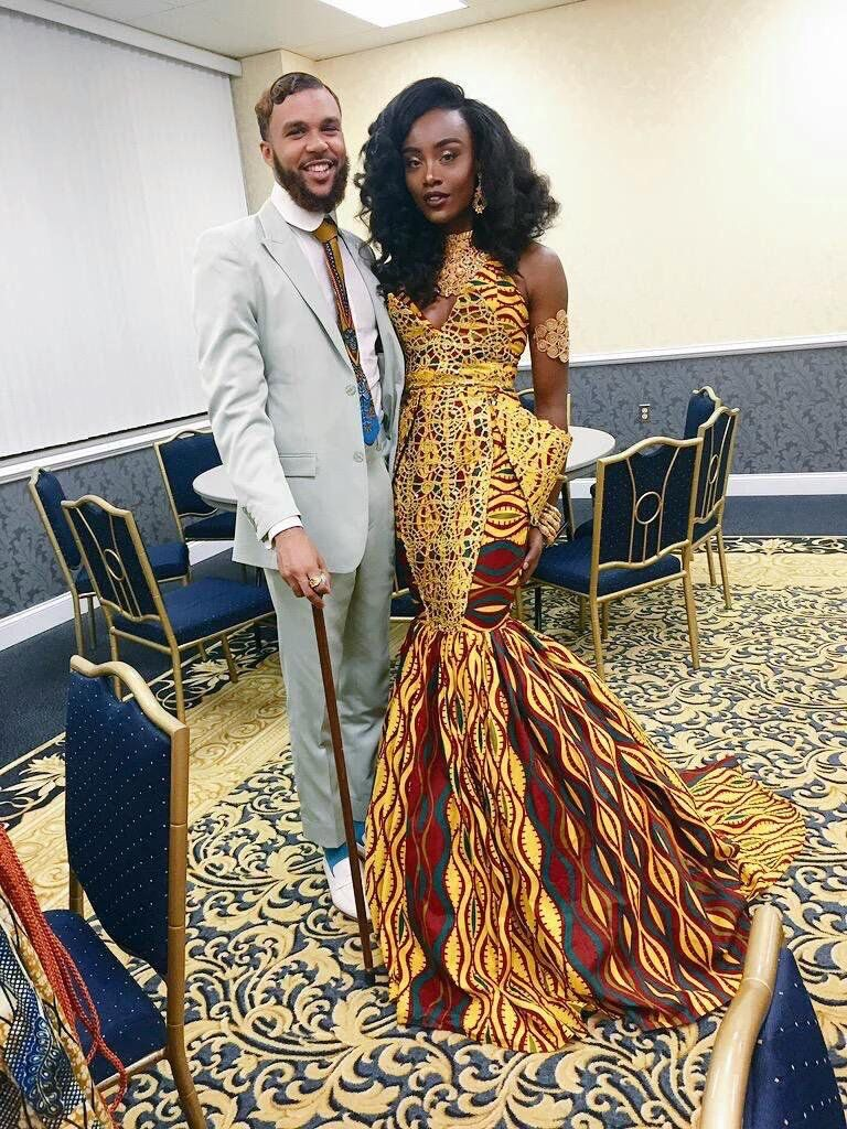 African Short Prom Dresses