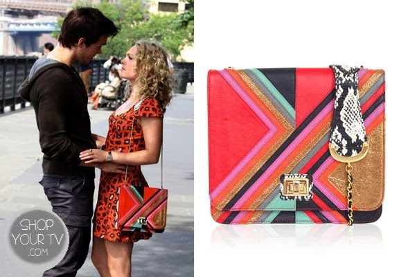 Shop Your Tv: The Carrie Diaries: Season 2 Episode 5 Carrie's Multicolor Bag