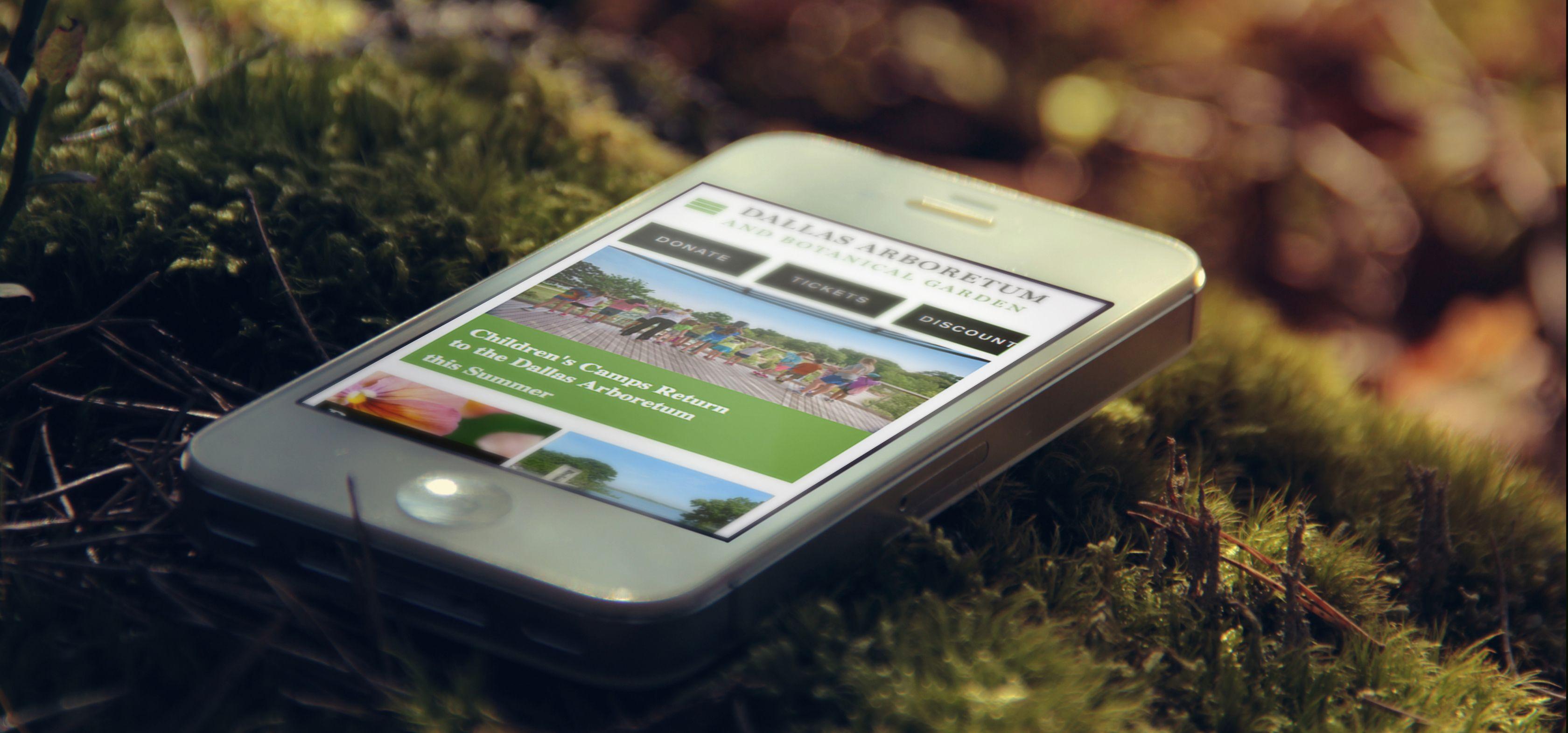 Dallas Arboretum. SERVICES Planning, Web Site and Game