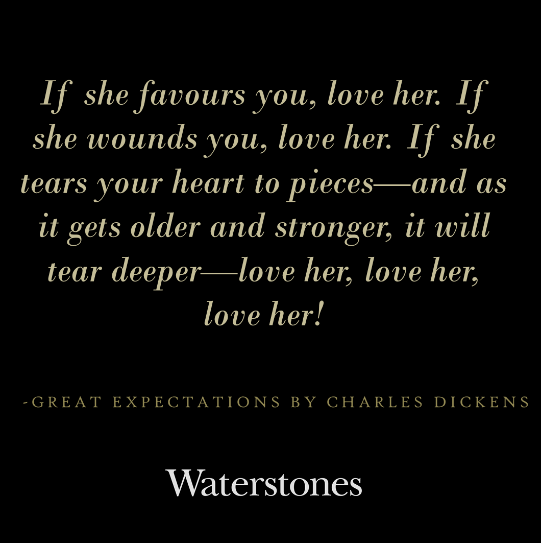 great expectations essays and love This essay is an analysis of how charles dickens, the author of great expectations, tells readers that money is not a true teller of happiness.
