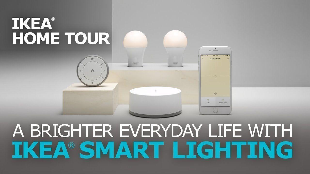 Easy Home Automation with Smart Lights - IKEA Home Tour # ...