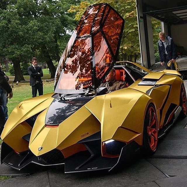 Lamborghini Egoista Inside: How Many Lamborghini Egoista Were Made