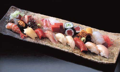 Info sushi y pescados