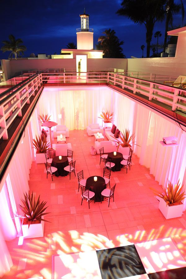 montecitos coral casino 40th birthday party weddings by