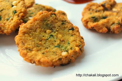 Masala Wada in Marathi   Time: 25 Minutes (Excluding soaking time)  Yield: 15 to 18 medium vada     ...