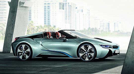 Bmw I8 Concept Now With No Roof A 5 Bmw I8 Bmw Cars