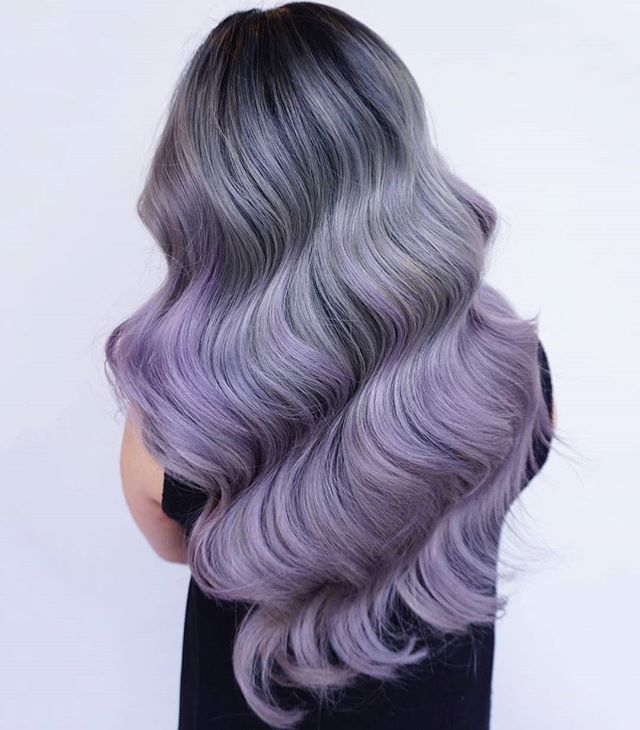 Chrome waves for the gram by evalam this girl is a fucking instagram post by linh phanhairstylistcolorist mar 3 2016 at 1245am utc gray hair colorsgray solutioingenieria Image collections