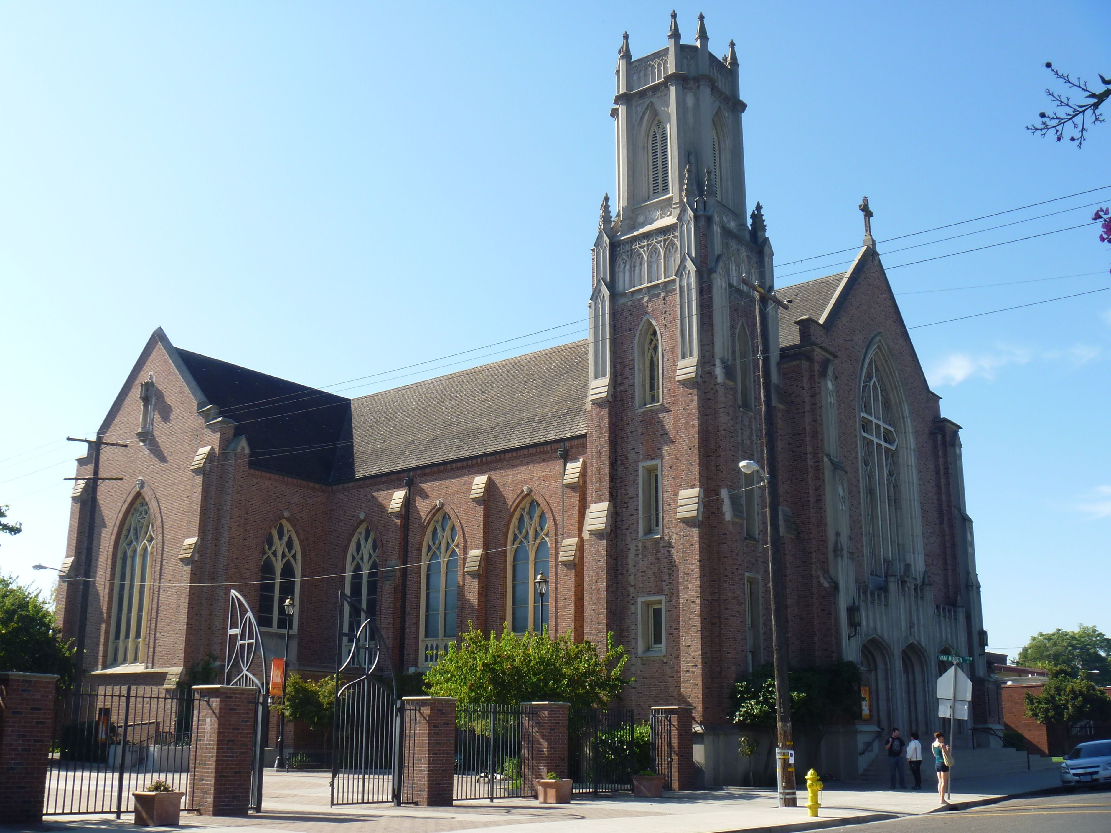 California annunciation catholic cathedral in stockton