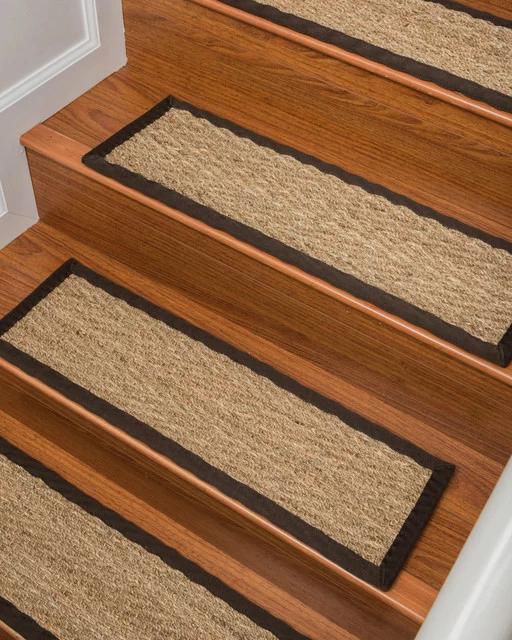 Best Natural Area Rugs Beach Stair Treads Carpet 9 X 29 640 x 480