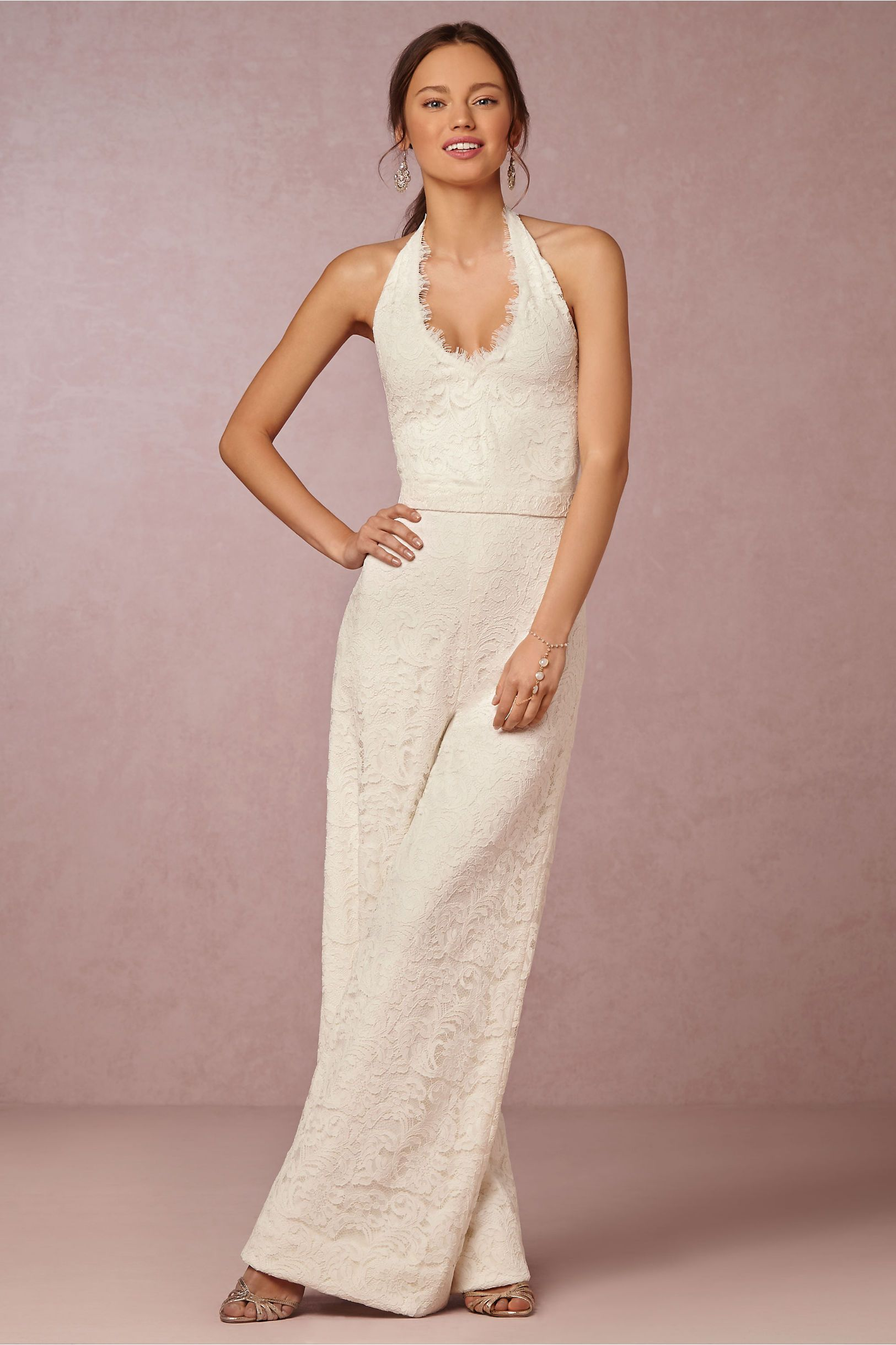 Matilda jumpsuit in bride reception dresses at bhldn - Jumpsuit hochzeit ...