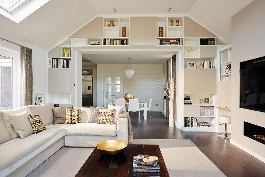 contemporary open plan lounge | dan's house