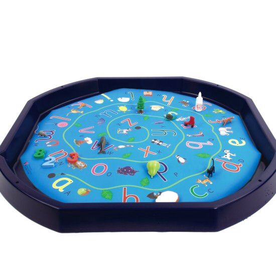 Phonics Match On The Tuff Spot Target Tuff Tray Tuff