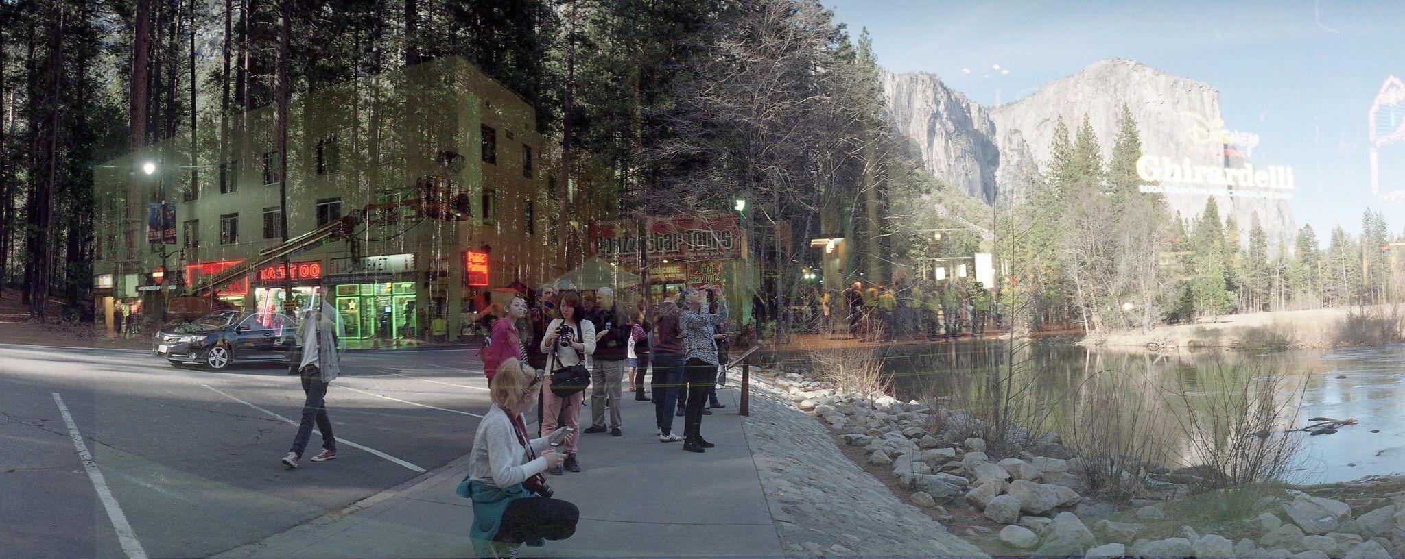 Yosemite meets Hollywood Blvd