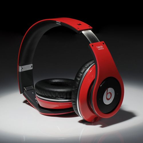 Beats By Dre Wireless High Defintion Stereo Bletooth Headphones Red Black Headphones Beats Beats By Dre