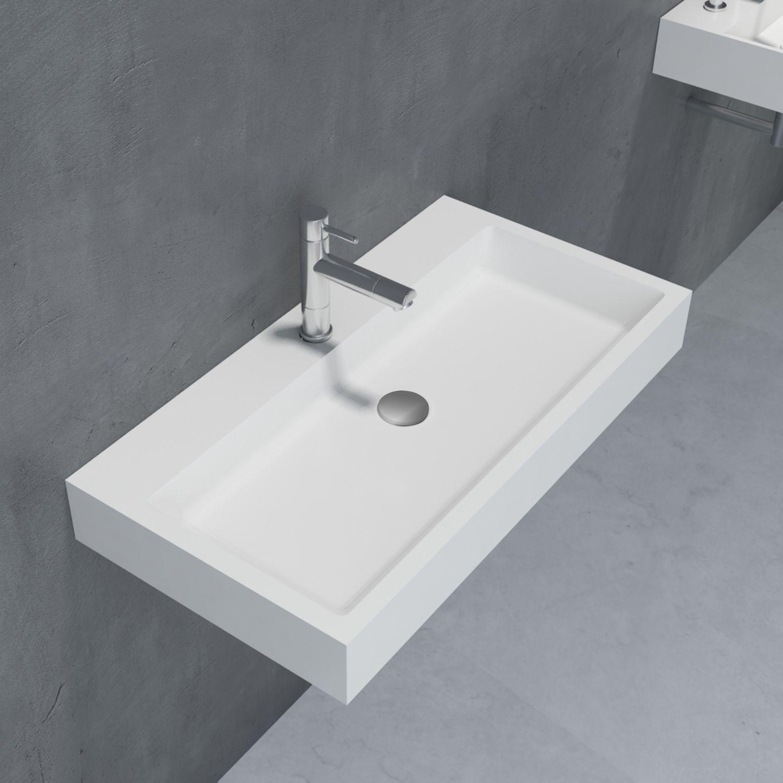 Waschbecken Aufsatzwaschbecken Pb2143 Aus Solid Stone Mineralguss Weiss Matt 80 X 42 X 10 Cm Badewelt Waschbeck Aufsatzwaschbecken Waschbecken Aufsatzbecken