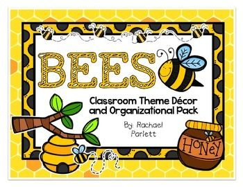 This Bee Themed Decor Pack Will Get Your Classroom Ready In A Snap You