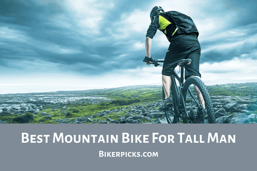 The Tall Man Hesitates To By A Mountain Bike Because They Can T