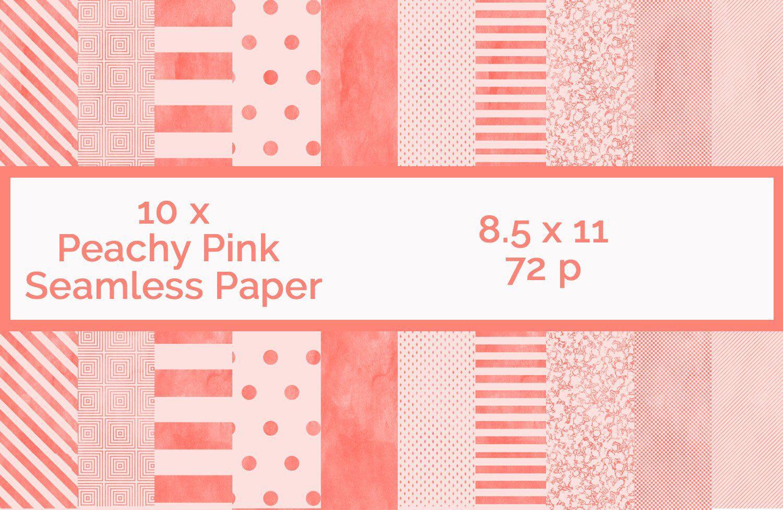 Rose Gold Rose gold Digital Paper Pack Fabric Basic Seamless Surface Pattern Polka Dot Digital Paper Summer Planner Stickers