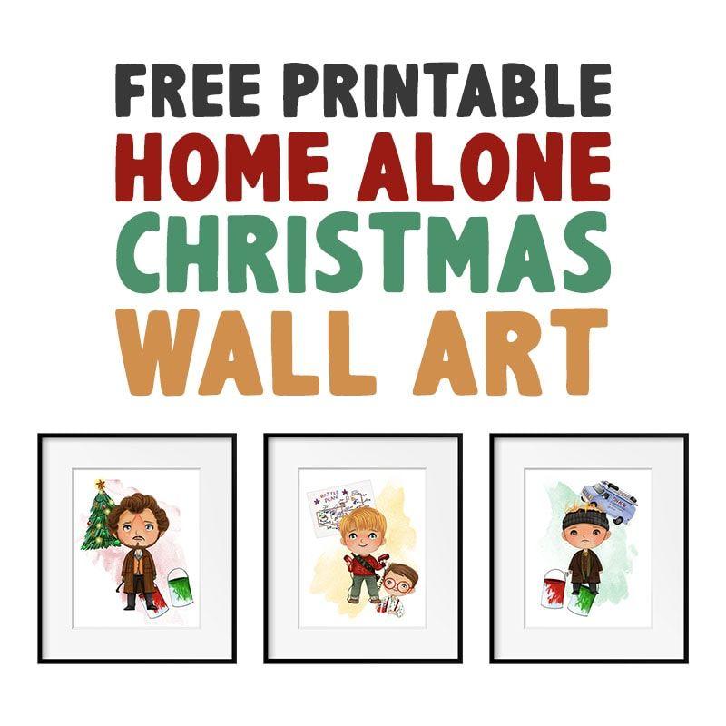 Free Printable Home Alone Christmas Wall Art The Cottage Market Home Alone Christmas Christmas Wall Art Free Printables