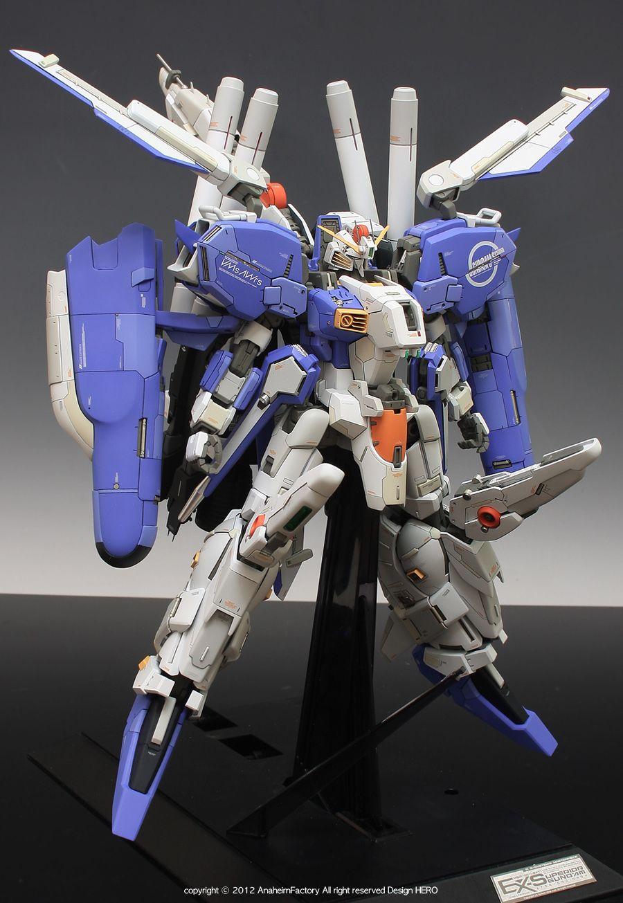 Msa 0011 Ext Ex S Gundam Masterpiece Modeled By Anaheim Factory Gundam Toys Custom Gundam Gundam