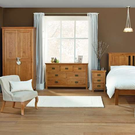 Dorchester Oak Bedroom Furniture Collection … | Pinteres…