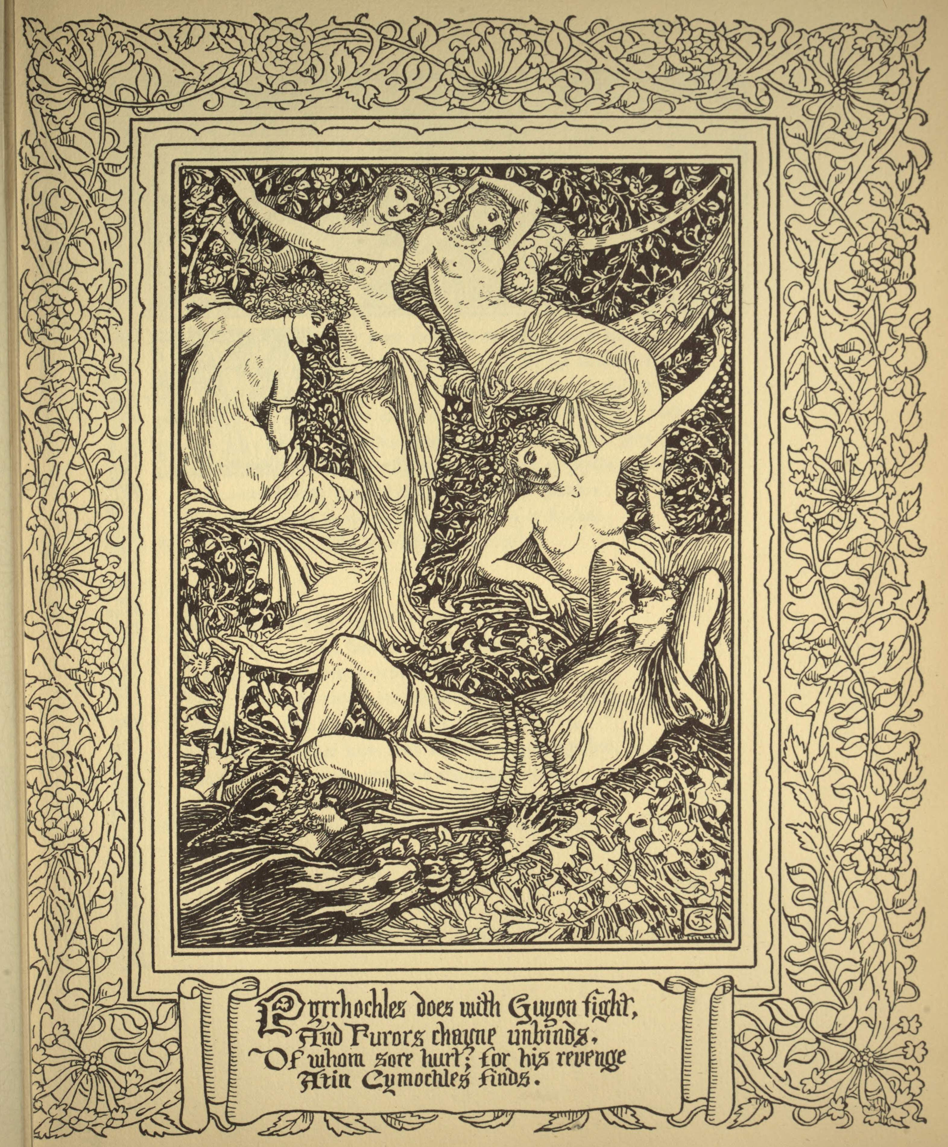 From Spenser's Faerie Queene Vol. 2