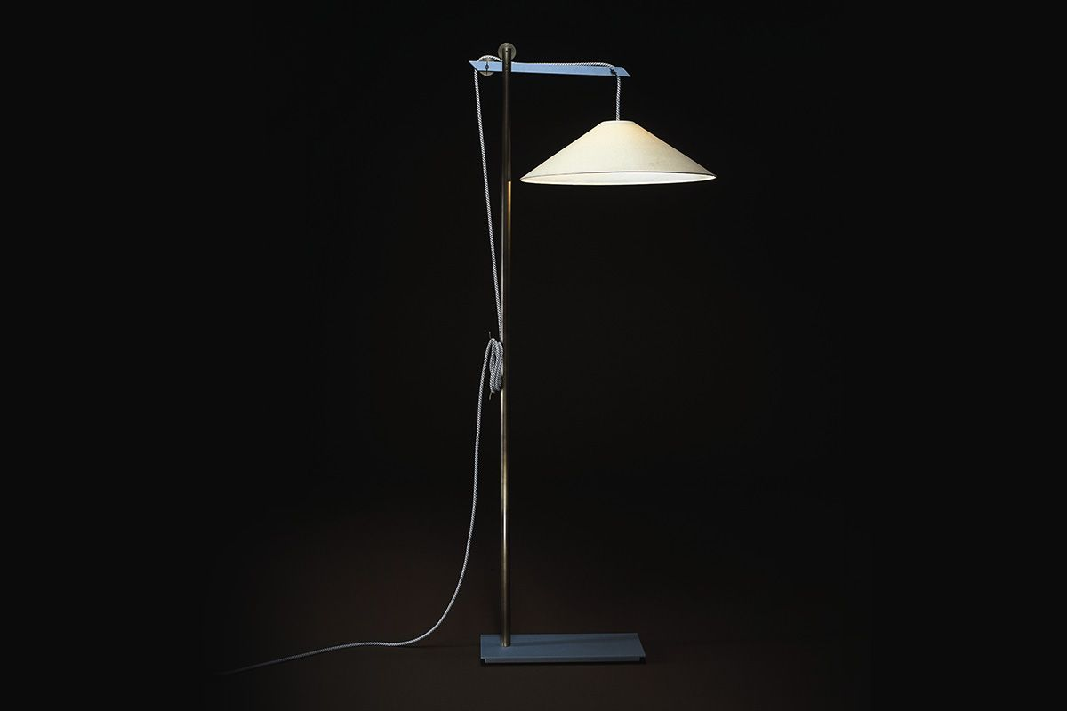 Kraft Floor Lamp Ecart Studio Ecart International Lampadaire Floor Lamp Lampe