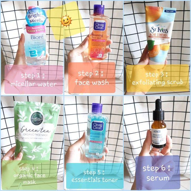 Clean And Clear Natural Bright Untuk Jerawat