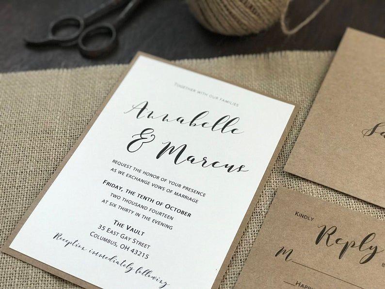 Rustic Wedding Invitation Set Burlap Wedding Invitation Etsy In 2020 Wedding Invitations Rustic Rustic Wedding Invitation Set Antler Wedding Invitations
