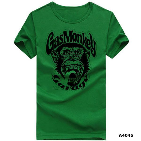 7ee86cd2 Printed Gas Monkey Garage T-Shirt | Hats and Things | Gas monkey ...