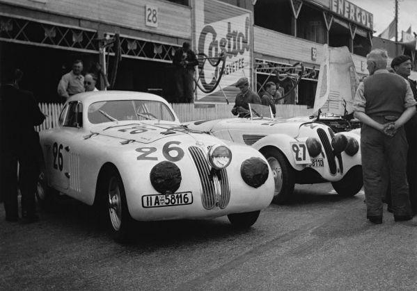 BMW 328 Touring Coupé, Le Mans 1939 | Auto-Racing | Pinterest | Bmw ...