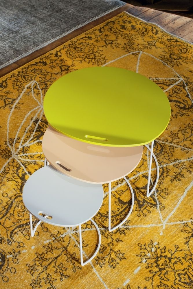 Atelier Pfister Collection 2013 Pompamples Side Table By