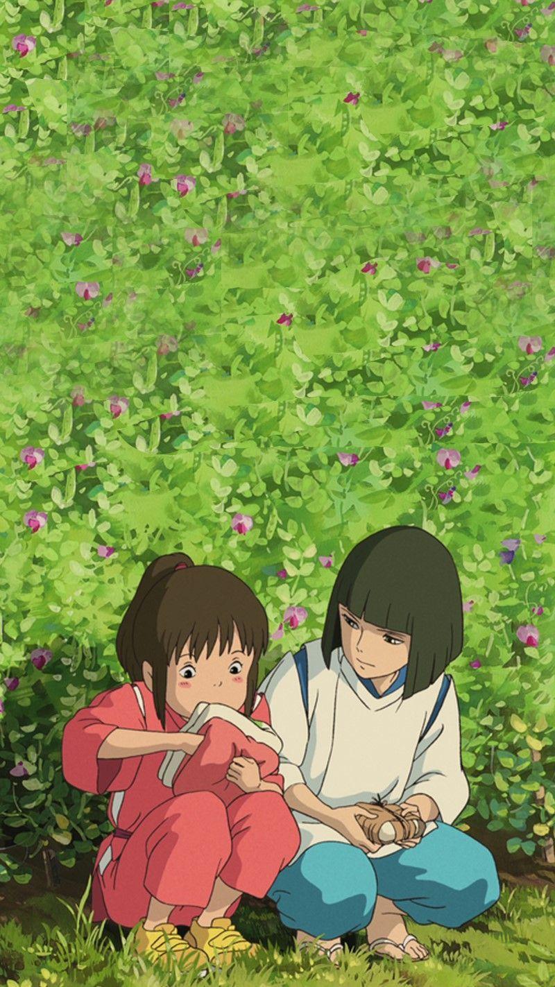 지브리 센과 치히로의 행방불명 배경화면 : 네이버 블로그 - Anime