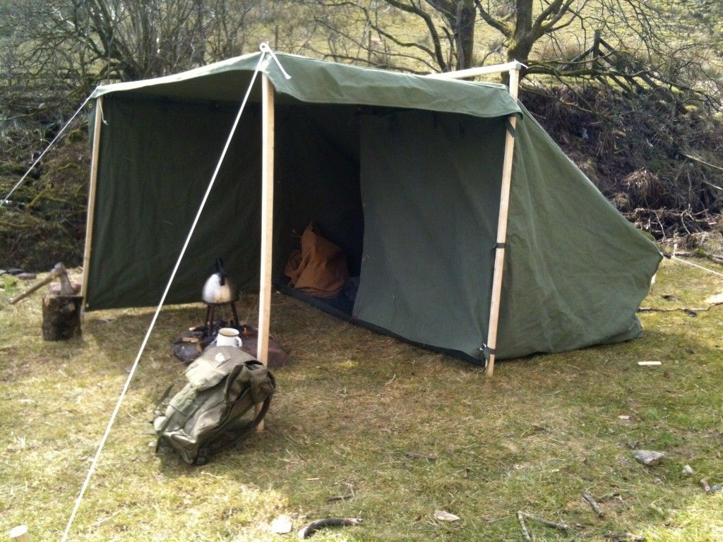 how to make a mini camping tent
