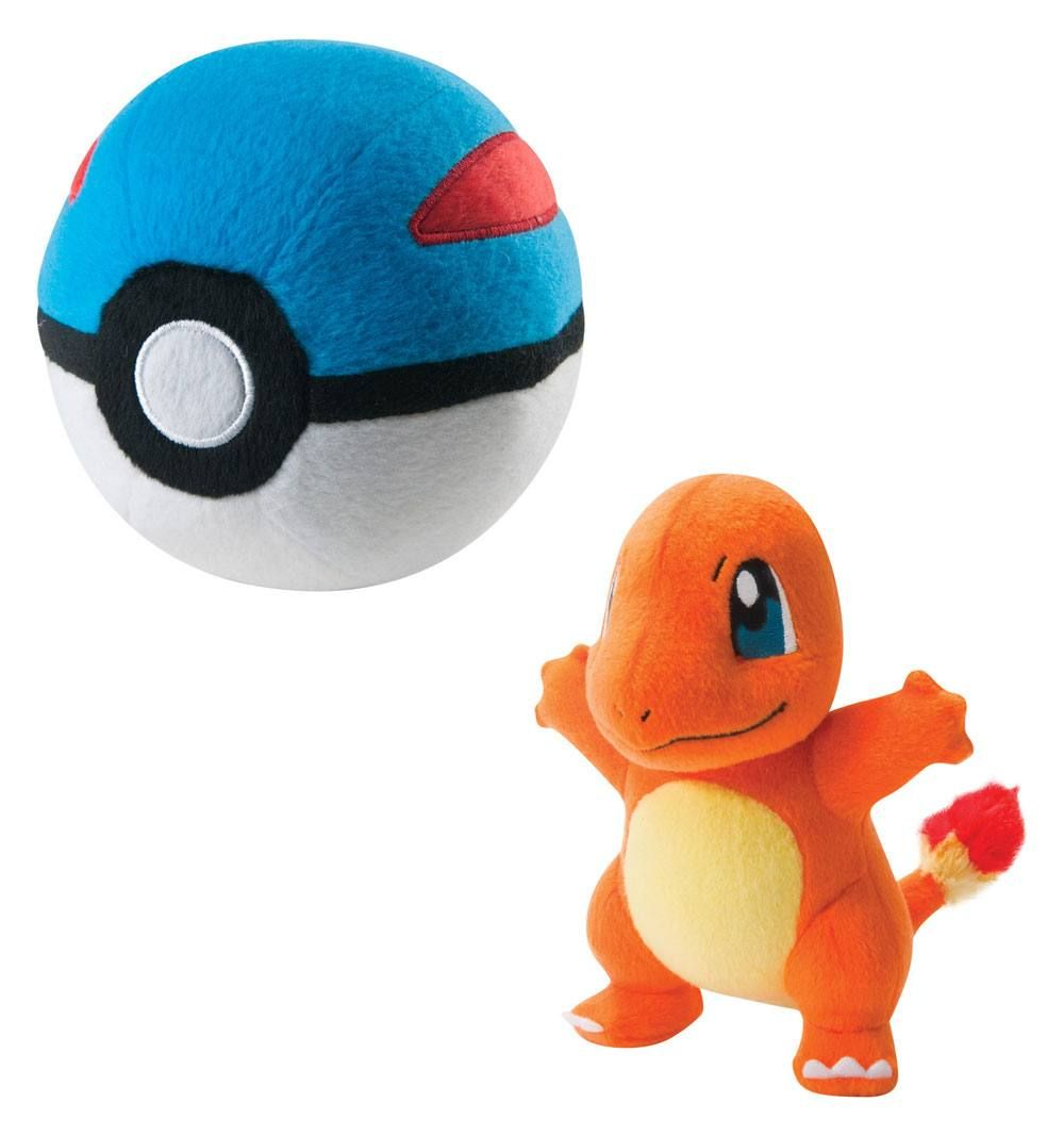 Gosedjur Pokemon Charmander With Great Ball 15cm Plushie Photography Followme Travel Cute Fun Food Repost Black Blogg Gosedjur Pokemon Mjukisdjur
