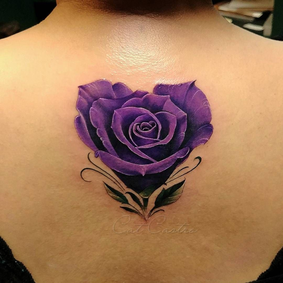 Cat Castro Tattoos The Cccat On Instagram Beautiful Flowers For Beautiful Women Rose Ro Lila Tattoos Rose Tattoo Ideen Tattoos Uberdecken