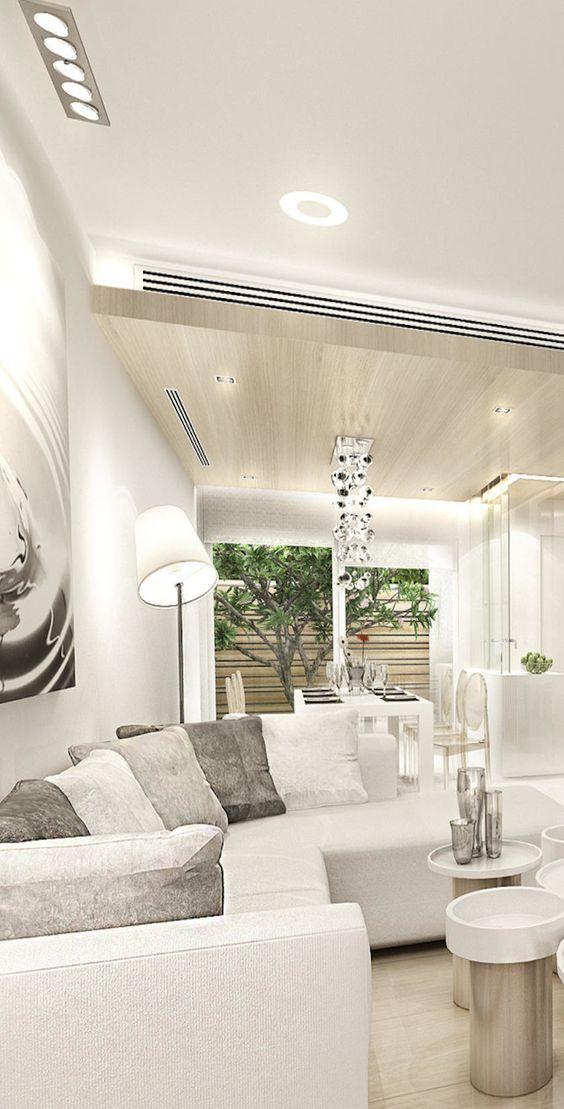 Como Decorar Una Sala En Color Blanco Decoracion Para Muebles Color Blanco Imagenes De Decoracion Estilo De Sala De Estar Salas Blancas Como Decorar La Sala