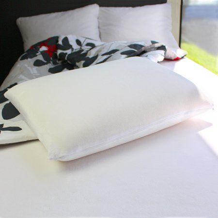 Dream Serenity Standard Traditional Memory Foam Pillow Walmart Com Almohadones