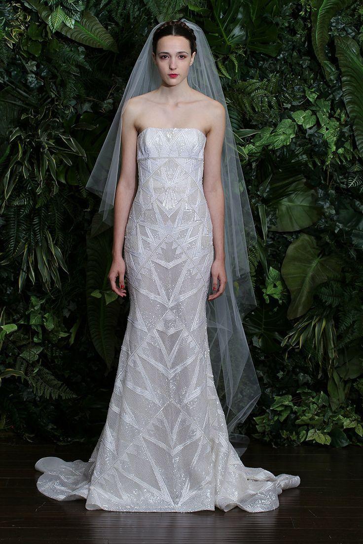 Gorgeous and Feminine Wedding Dress by Naeem Khan {photo: Dan Lecca}