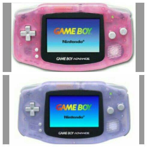 #GameboyAdvance I had one of these colors...can't remember which.