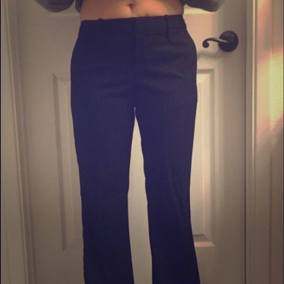 Pinstripe Gap Dress Pants Super professional, great for the office! GAP Pants Trousers