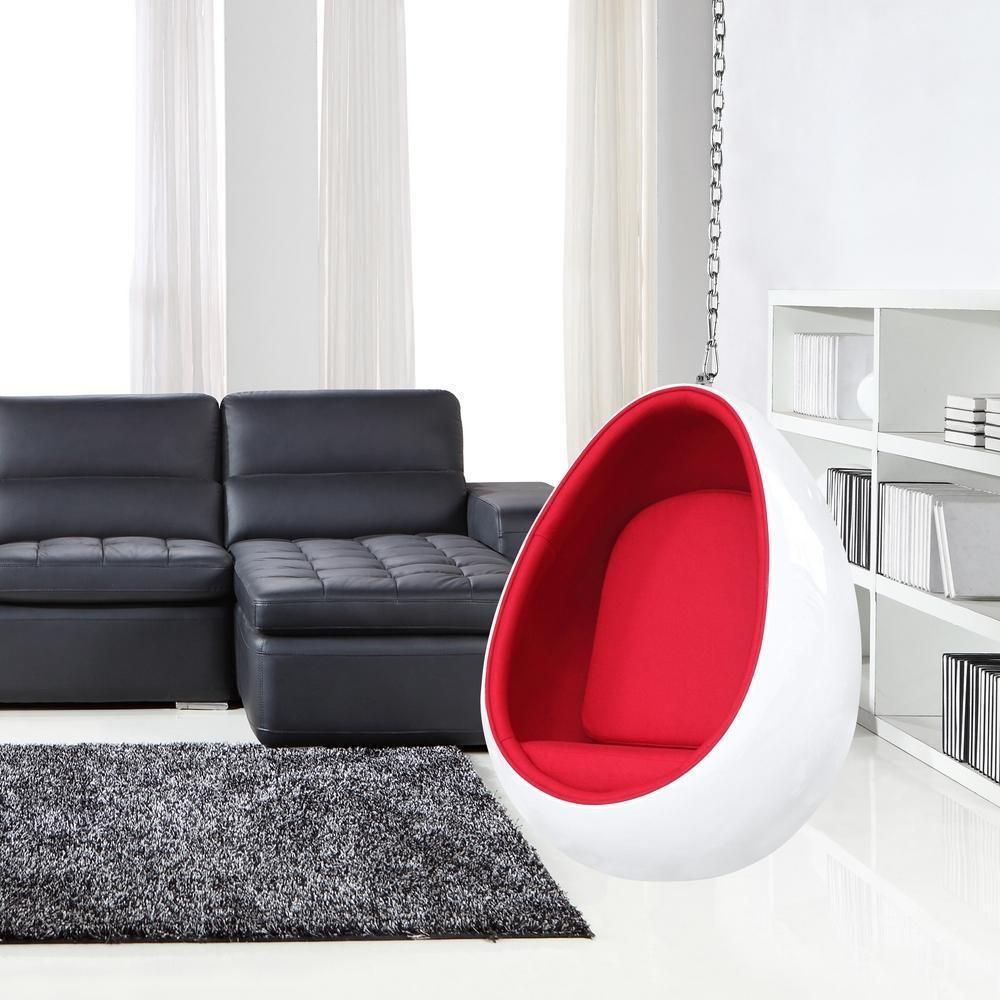 Fine mod imports egg hanging chair hanging chairs free shipping