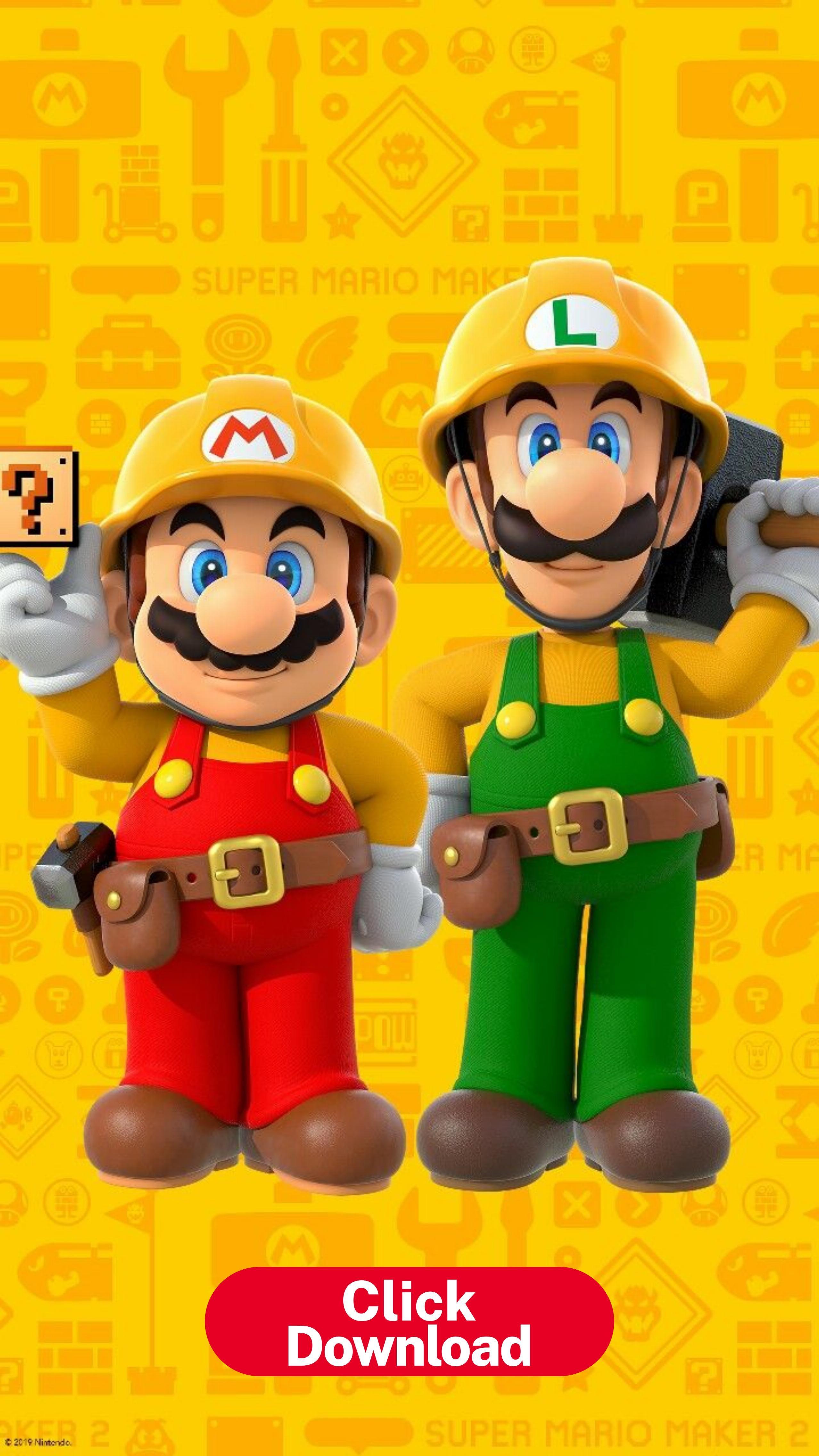 Mario Maker 2 Hd Phone Wallpaper Super Mario Super Mario Bros En 2020 Super Mario Bros Fondos De Pantalla Para Samsung Galaxy Fondos Mario Bross