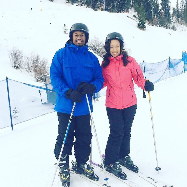 Winter baecation. We had an awesome time on the bunny