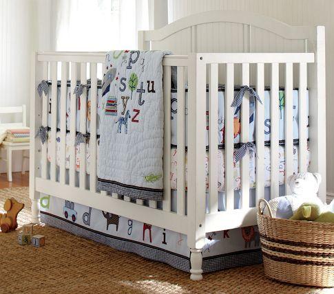 Catalina 3 In 1 Convertible Crib Baby Boy Rooms Baby Boy Nursery Themes Alphabet Nursery