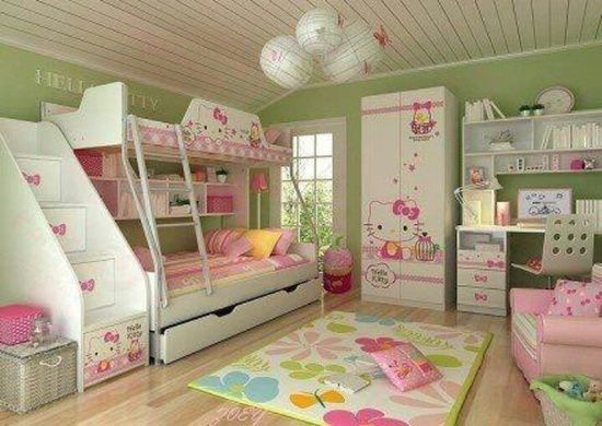 Hello Kitty Bedroom Ideas Kids Decor Diy Daughters